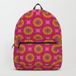 Yellow Circles Backpack