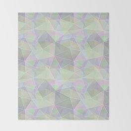 Polygonal pattern. Throw Blanket