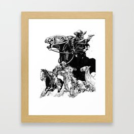 The Pursuit Framed Art Print