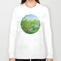 spring Long Sleeve T-shirts featuring Spring by Amy Fan