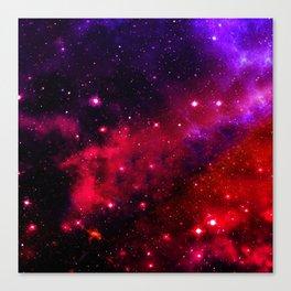 Pink Black Blue Canvas Print