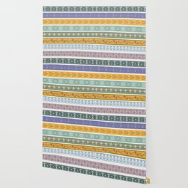 Vintage Ornament Pattern Wallpaper