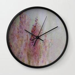 heather Wall Clock