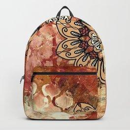 Mandala | Tapestry | Bronze | Boho | Gypsy | Hippie Backpack