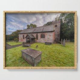 St Dyfnog's Church Serving Tray