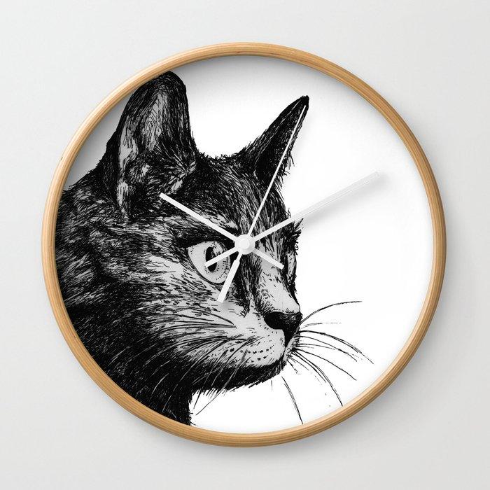 gato Wall Clock