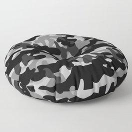 Camouflage (Gray) Floor Pillow