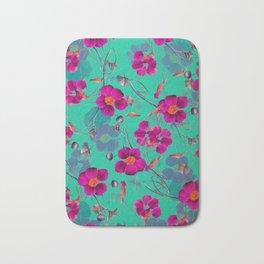 flowers / 72 Bath Mat