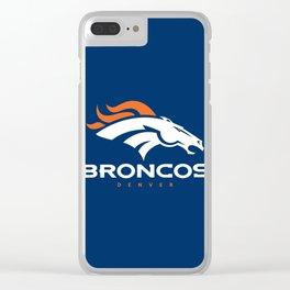 Broncos den Clear iPhone Case