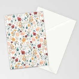 Deep Florals Stationery Cards