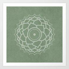 Third Eye - Sage Green Art Print