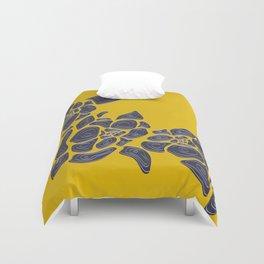 Graphic Flower Pattern  Duvet Cover