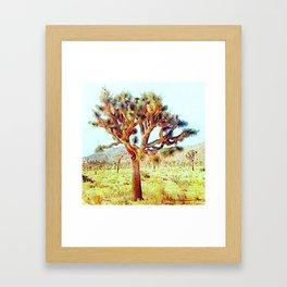 Joshua Tree VG Hills by CREYES Framed Art Print