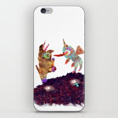 I Don't Believe Using Your Psychic Powers iPhone & iPod Skin