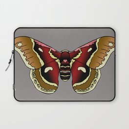 Cecropia Moth Laptop Sleeve