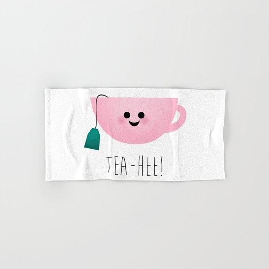 Tea-Hee Hand & Bath Towel