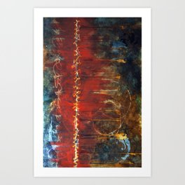 Seams Art Print