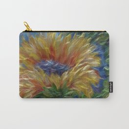 Sunflower Painting Carry-All Pouch