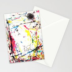 They Enjoy the Color Attack! Stationery Cards