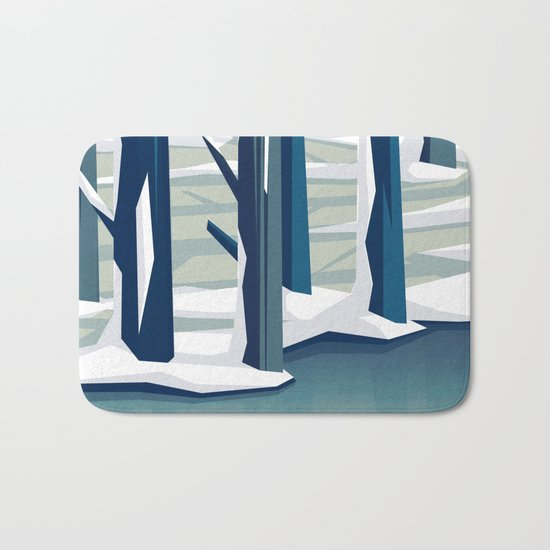 Spring was coming Bath Mat