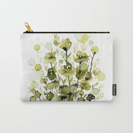 Floral Charm No.1H by Kathy Morton Stanion Carry-All Pouch