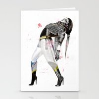 the xx Stationery Cards featuring xx by Felicia Atanasiu