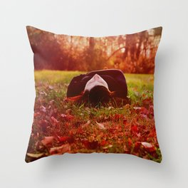 The Lover of Simple Things Throw Pillow