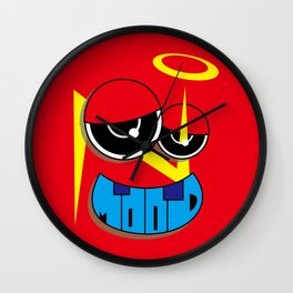 MOOD (Original Characters Art By AKIRA) Wall Clock