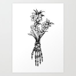 In Bloom #01 Art Print