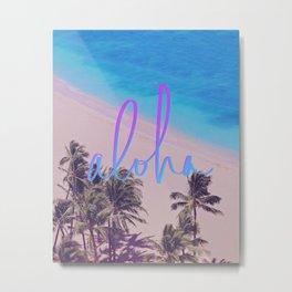 Aloha Hawaii Metal Print