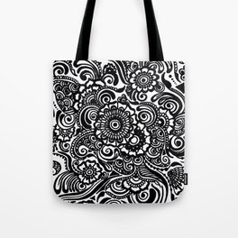 Crafted Doodle Tote Bag