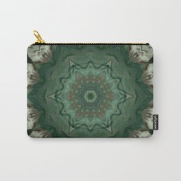 The Green Unsharp Mandala 3 Carry-All Pouch