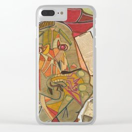 UN PICASSO MIO Clear iPhone Case