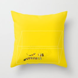 San Bernardino Mountain Kingsnake Throw Pillow