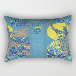 The Valley of Color Days Book Rectangular Pillow
