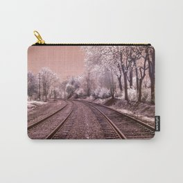 Train Track in Culpeper Carry-All Pouch