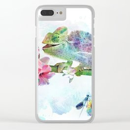 Colors of Life Clear iPhone Case