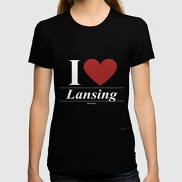 Lansing Michigan MI Michiganian T-shirt
