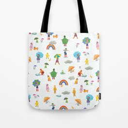 Fun on a Rainy Day Tote Bag