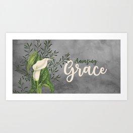 Amazing Grace Art Print