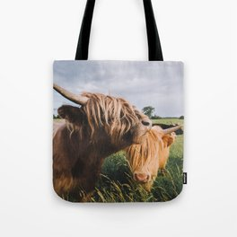 Highland Cows II Tote Bag