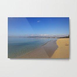 Playa de Palma, Mallorca Metal Print