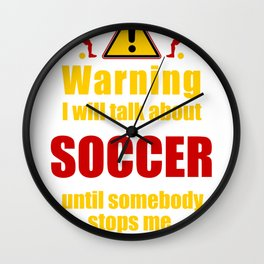 Funny sports tees gifts cool hobby gift Shirts Wall Clock