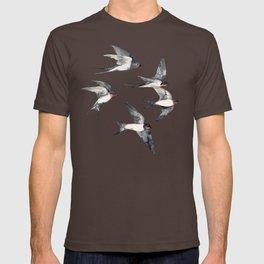 Blue Sky Swallow Flight T-shirt