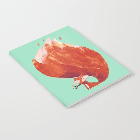 Kitsune (Fox of fire) Notebook