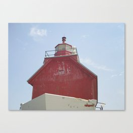 Grand Haven Peir Canvas Print