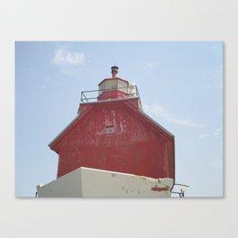 Grand Haven Peir Canvas Print