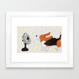 Flying Ears Framed Art Print