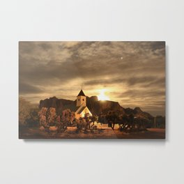 Jupiter Chapel Metal Print