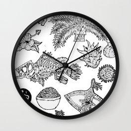 Malaysia Wall Clock